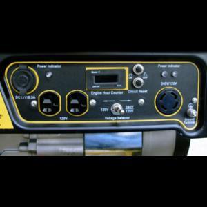 WEN Portable Generator panel