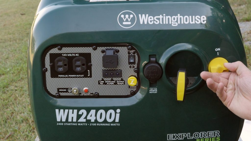 Westinghouse silent generator