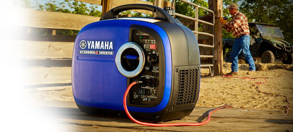 small quiet portable generator